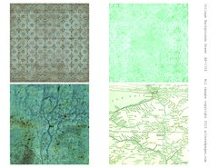 1724 Collage Backgrounds green