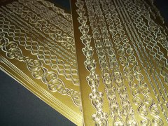 Glam Gold Stickers (3)
