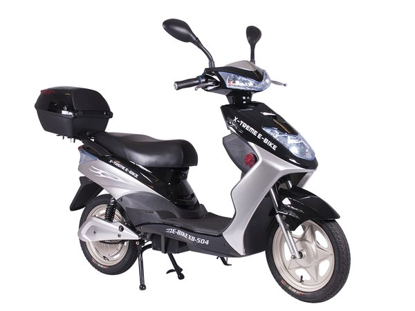 Xb 504 electric bicycle scooter electro bike world for Do you need a license for a motorized bicycle