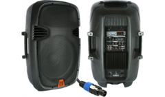 "Mr DJ PBX-2630BTPK 15"" 3500 watts with Built-in Amplifier/fm Radio/Bluetooh"