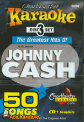 Johnny Cash Chartbuster 50 Song Pack Cb5050