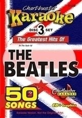 Beatles Chartbuster 50 Song Pack Cb5132