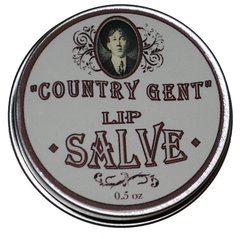 Country Gent Lip salve, No Tint, Alll Natural