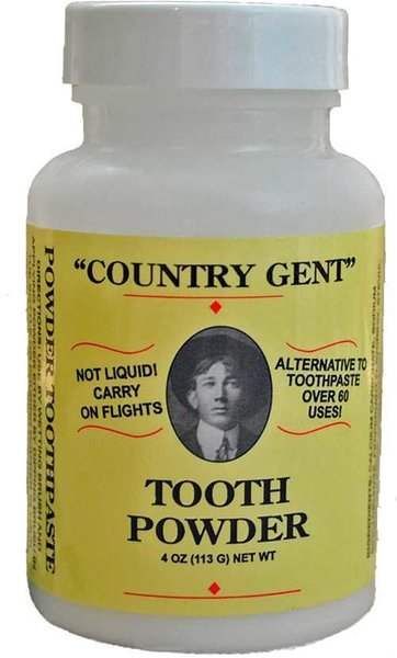 """Country Gent"" Tooth Powder, 4 oz"
