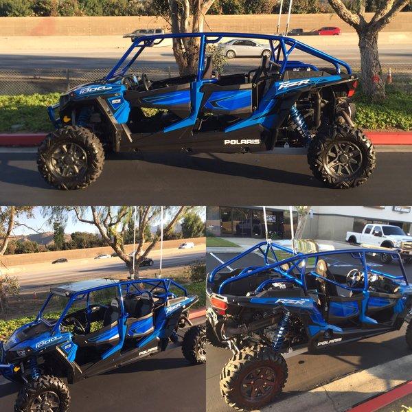 2014 2017 Polaris Razor 1000 Four Seater Roll Cage