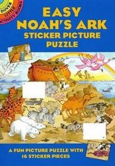 Easy Noah's Ark Sticker Picture Puzzle - Cathy Bevlon
