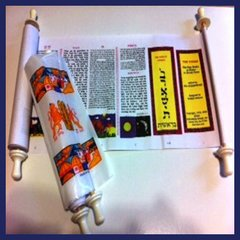 The Torah: The Five Books of Moses in Scroll Form