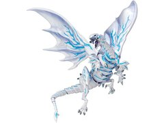 Yu-Gi-Oh! The Dark Side of Dimensions Vulcanlog Figure - Blue-Eyes Alternative White Dragon Shipping Included