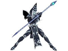 Yu-Gi-Oh! The Dark Side of Dimensions Vulcanlog Figure - Black Magician In Stock Shipping Included