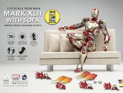 SDCC 2016 Iron Man 3 Mark 42 XLII & Comicave Sofa Exclusive 1/12th scale US