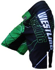 Wrestling Cage Shorts (Green)