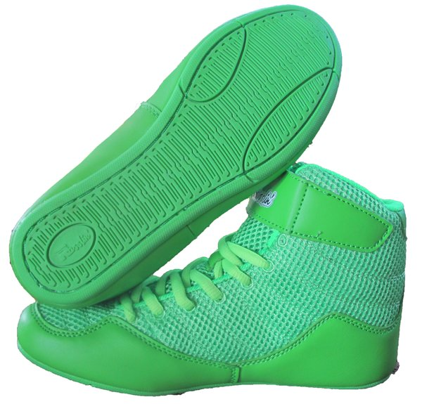 Rasslin' Neo 2.0 Youth Wrestling Shoes (Neon Green) | Rasslin ...