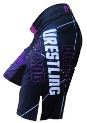 Wrestling Cage Shorts (Purple)