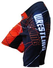 Wrestling Cage Shorts (Orange)