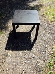 utilitarian small black tables 8 available