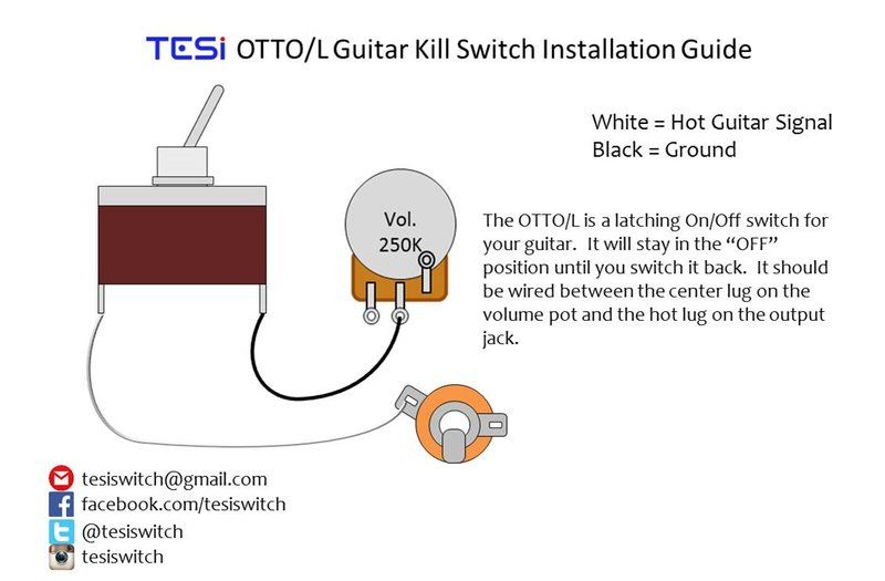 Wiring Diagrams | Tesi Guitar Kill Switch, Parts and Accessories ...