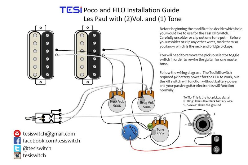 wiring diagrams tesi guitar kill switch parts and accessories try watching this video on com or enable javascript if it is disabled in your browser