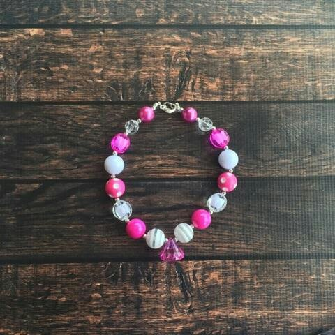 Bubble Gum Necklace Sew Cute Monograms