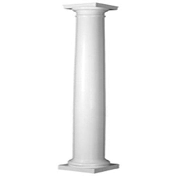 Round Wood Columns : Tapered column cast stone international