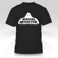 Minerva Monster Black T-Shirt