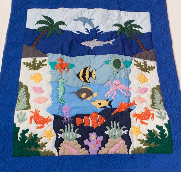 Hawaiian Sea Life Quilt The Maui Quilt Shop