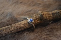 Lapis Ring- Sterling Silver