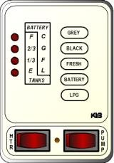 Kib Electronics Monitor Panel Model M24vwl Repair