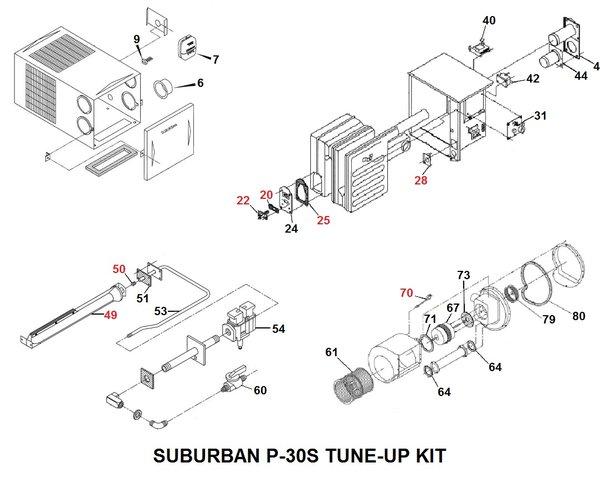 suburban furnace model p-30s parts | pdxrvwholesale intertherm eletric furnace parts diagram #13