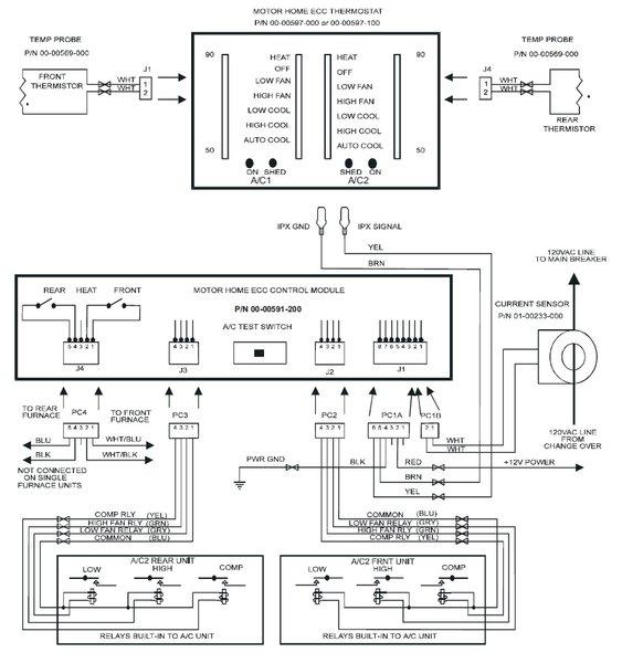 Intellitec Dual Ac    Furnace Control Module 00