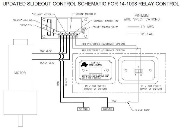 power gear slide out controller 14 1098 pdxrvwholesale
