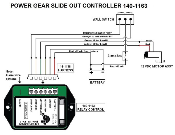 Power Gear Slide Out Controller 140