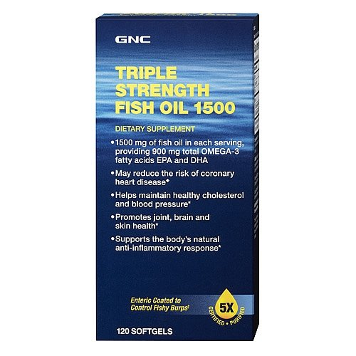 Gnc triple strength fish oil 1500 nexgen nutrition for Gnc triple strength fish oil 1500