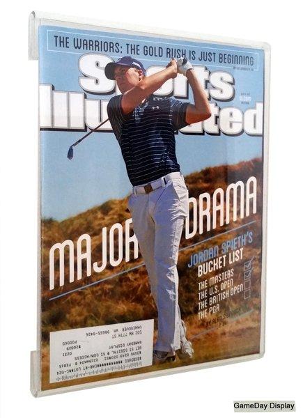 frameless sports illustrated magazine display