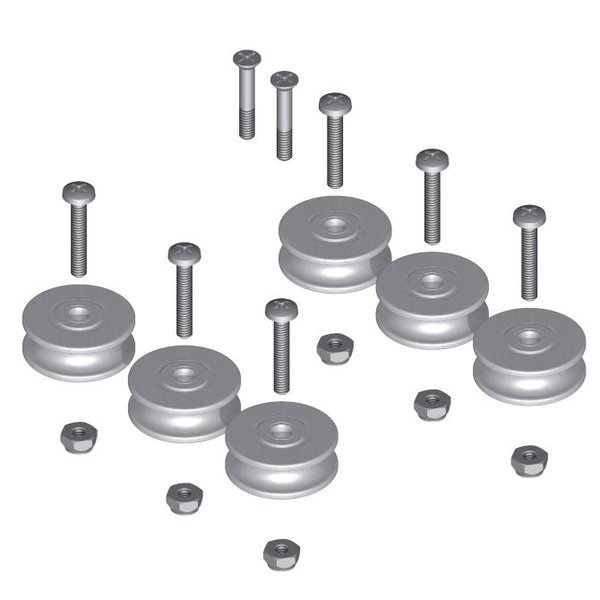 Double Row Bearing Pulley Replacement Kit Www