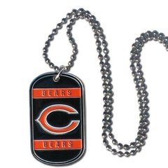 NFL Chicago Bears Dog Tag