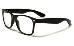 Retro Clear Lens Black Wholesale Dozen