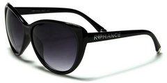 90011 Romance Large Cat Eye Black