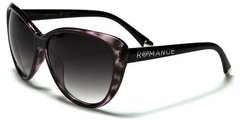 90011 Romance Large Cat Eye Purple Tortoise Shell