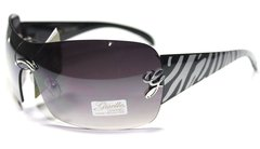 28003 Giselle Shield Grey Zebra