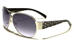 96004 Romance Wide Arm Aviators Grey