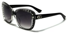 1809 CG Eyewear Rhinestone Black Clear