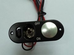 Aluminum Heavy Duty Single Switch with Fuel Dot