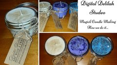 Pick 3 - 8 Ounce Candles, Reiki Charged
