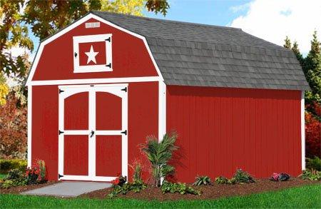 10x16 Painted Lofted Barn Leland S Of Jacksonville