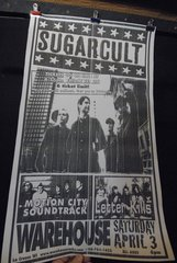 SUGARCULT / MOTION CITY SOUNDTRACK / LETTER KILLS 04/03/04 concert poster WAREHOUSE