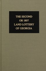 1807 Land Lottery of Georgia.