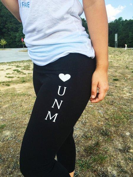 UNM Has My Heart Yoga Pants | Shop UNM
