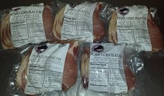 Unsmoked Proper British Bacon 5lb total