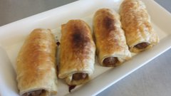 Sausage Rolls 4 each per package