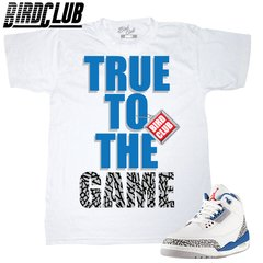 AIR JORDAN 3 TRUE BLUE SHIRT